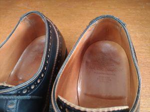 靴の履き口部