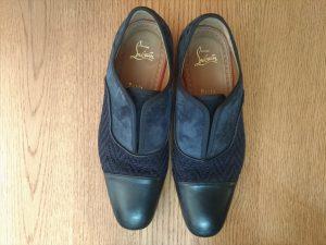 メンズのルブタン革靴