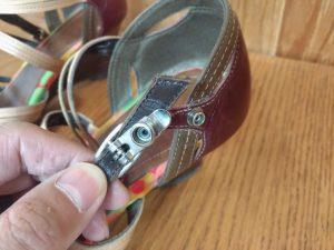 ホック金具の交換