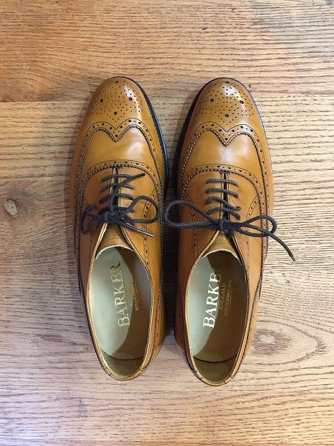 バーカー靴修理