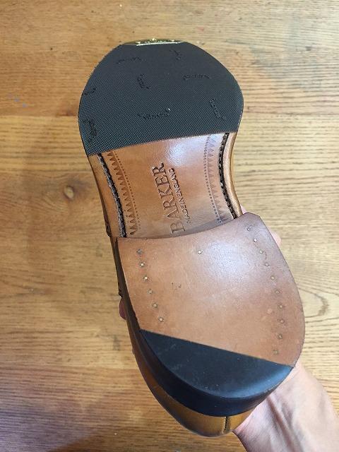 バーカー靴ハーフソール修理